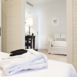 Junior Suite with soft and warm bathrobe